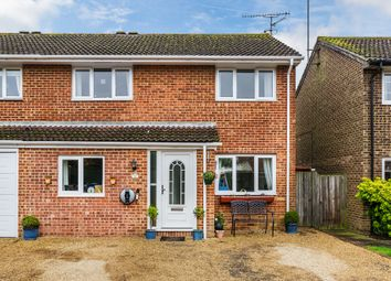 Thumbnail 3 bed semi-detached house for sale in Kestrel Close, Horsham, West Sussex