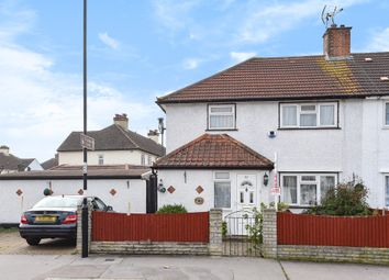 Thumbnail 3 bed semi-detached house for sale in Crowley Crescent, Waddon, Croydon