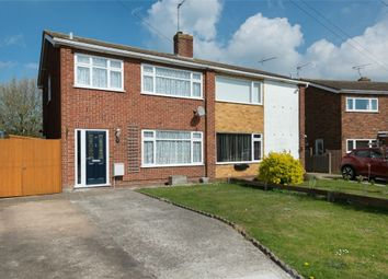 Thumbnail 3 bedroom semi-detached house for sale in Aldridge Close, Greenhill, Herne Bay, Kent