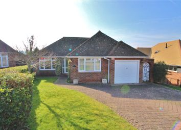 Thumbnail 2 bedroom bungalow for sale in Downland Close, Findon Village, West Sussex