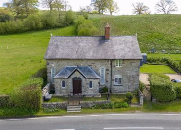 Thumbnail 4 bed cottage for sale in Llanfair Caereinion, Welshpool