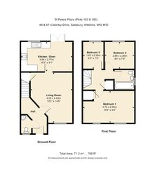 Thumbnail 3 bed semi-detached house for sale in Coberley Drive, Salisbury, Wiltshire