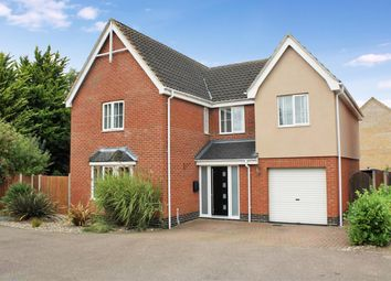 Thumbnail 4 bedroom detached house for sale in Guildhall Road, Worlingham, Beccles