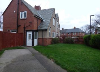 Thumbnail 3 bedroom semi-detached house for sale in Thropton Terrace, High Heaton, Newcastle Upon Tyne