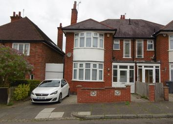 Thumbnail 3 bed semi-detached house for sale in Byway Road, Leicester