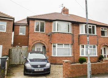Thumbnail 4 bed semi-detached house to rent in Burnholme Drive, York