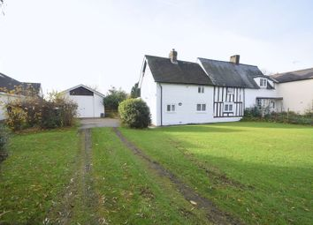 Thumbnail 2 bed semi-detached house for sale in Roe Green, Sandon, Buntingford