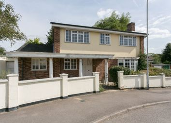 Thumbnail 4 bed detached house for sale in Faversham Avenue, Chingford, London