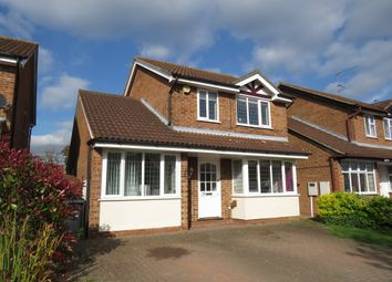 Thumbnail 3 bedroom detached house for sale in Tiffany Gardens, Northampton