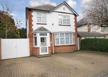 Thumbnail 5 bedroom detached house for sale in Carisbrooke Road, Leicester