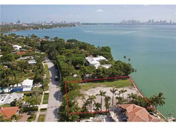 Thumbnail Land for sale in 5840 N Bay Rd, Miami Beach, Fl, 33140