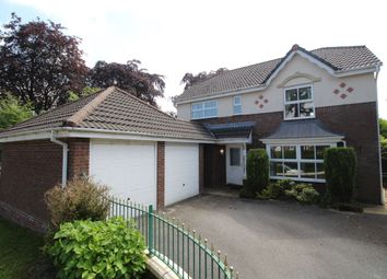 Thumbnail 4 bed detached house to rent in Redesmere Close, Macclesfield