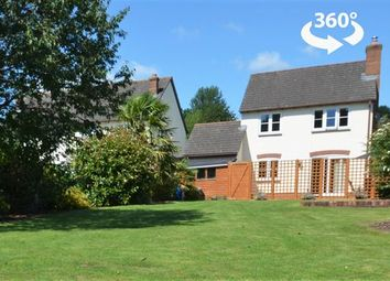 Thumbnail 3 bed detached house for sale in Millstream Gardens, Halberton, Tiverton