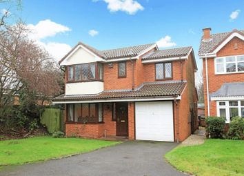 Thumbnail 4 bed detached house for sale in Elderberry Close, The Rock, Telford