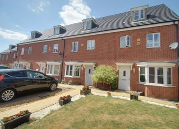 Thumbnail 4 bed terraced house for sale in Venus Way, Cardea, Peterborough