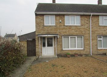 Thumbnail 3 bedroom semi-detached house to rent in Chestnut Crescent, Whittlesey, Peterborough
