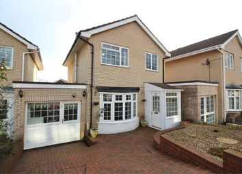 Thumbnail 3 bed link-detached house for sale in Croesonen Parc, Abergavenny, Monmouthshire