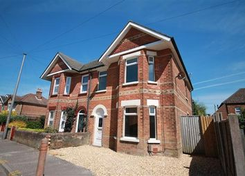Thumbnail 3 bed semi-detached house to rent in Albert Road, Parkstone, Poole