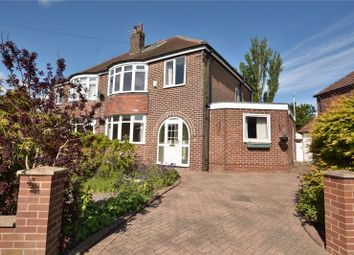 Thumbnail 5 bed semi-detached house for sale in Mount Drive, Leeds, West Yorkshire