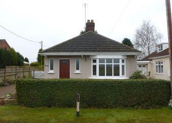 Thumbnail 3 bedroom detached bungalow to rent in Parson Drove Lane, Leverington, Wisbech
