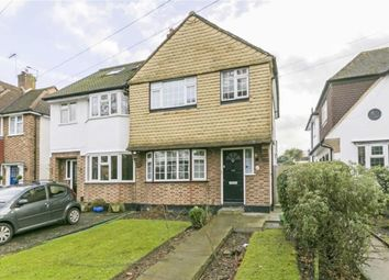 Thumbnail 3 bedroom semi-detached house for sale in Worcester Park Road, Worcester Park