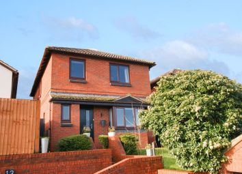 Thumbnail 4 bed detached house for sale in Spruce Close, Exeter