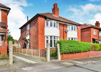 Thumbnail 3 bedroom semi-detached house for sale in Lisburne Avenue, Stockport, Greater Manchester