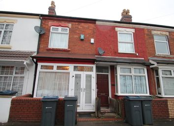 Thumbnail 2 bedroom terraced house to rent in Preston Road, Birmingham