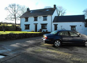 Thumbnail 7 bed farmhouse for sale in Blaenffos, Boncath