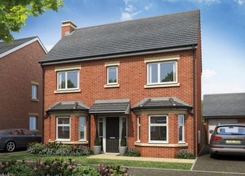 Thumbnail 3 bed detached house for sale in Plot 80, The Finan, Burton Road, Manorfields, Castle Gresley