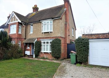 Thumbnail 4 bed semi-detached house for sale in Maidstone Road, Paddock Wood, Tonbridge