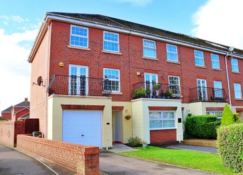 Thumbnail 4 bed town house to rent in Page Drive, Pengam Green, Cardiff