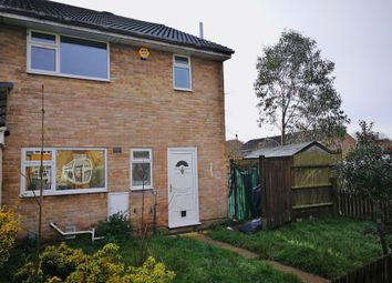 Thumbnail 3 bedroom end terrace house for sale in Hallam Moor, Swindon