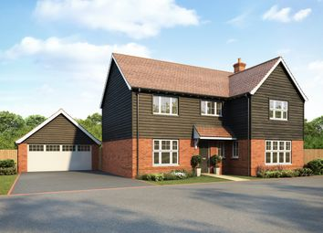 Thumbnail 4 bed detached house for sale in The Junipers At The Mulberries At Lodge Park, Hatfield Road, Witham, Essex