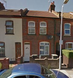Thumbnail 3 bed terraced house to rent in Spencer Road, Luton