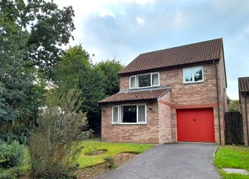 Thumbnail 4 bed detached house for sale in Pinewood Drive, Woolwell, Plymouth