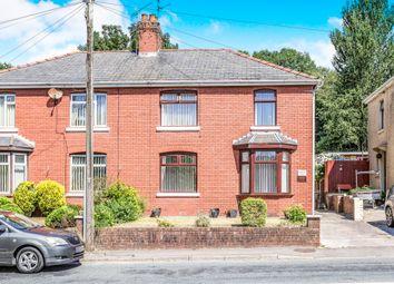 Thumbnail 3 bed semi-detached house for sale in Bryn Road, Brynmenyn, Bridgend