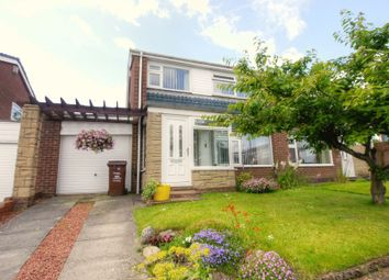 Thumbnail 3 bed semi-detached house for sale in Kearton Avenue, Chapel Park, Newcastle Upon Tyne