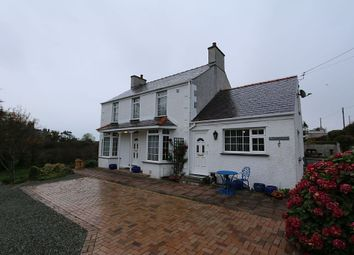 Thumbnail 5 bed detached house for sale in Caergeiliog, Holyhead, Anglesey