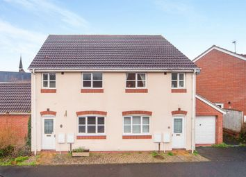 Thumbnail 3 bed semi-detached house for sale in St Lukes Mews, Cotford St. Luke, Taunton