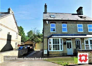 Thumbnail 3 bed semi-detached house for sale in Stotfold Road, Arlesey, Beds