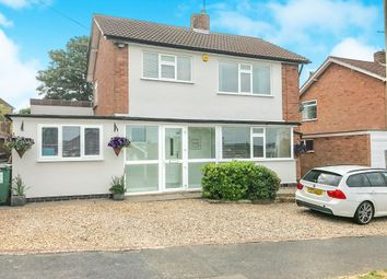 Thumbnail 4 bedroom detached house for sale in Faire Road, Glenfield, Leicester