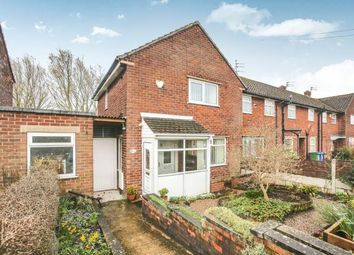 Thumbnail 2 bedroom end terrace house for sale in Carver Road, Marple, Stockport, Cheshire