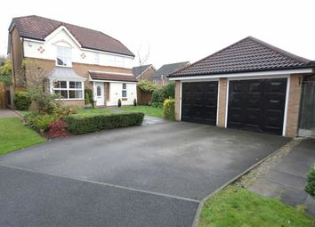 Thumbnail 4 bed detached house for sale in Blackledge Close, Orrell