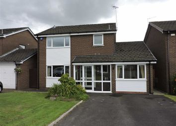 Thumbnail 3 bed detached house for sale in Linden Close, Bury, Greater Manchester