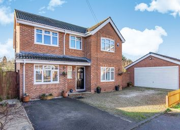 Thumbnail 4 bed detached house for sale in Station Road, Hensall, Goole