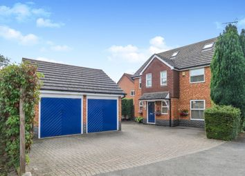 Thumbnail 5 bed detached house for sale in Rockingham Close, Thrapston, Kettering