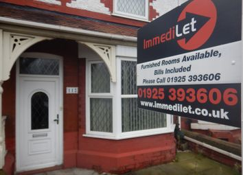 Thumbnail Room to rent in Chester Road, Warrington