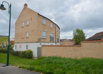 Thumbnail 4 bedroom town house for sale in Higney Road, Hampton Vale, Peterborough