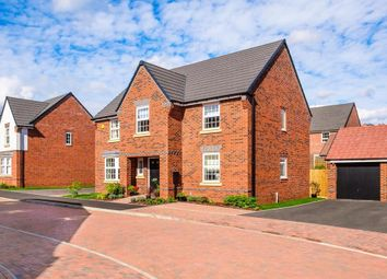 "Thumbnail 4 bedroom detached house for sale in ""Winstone"" at Mount Street, Barrowby Road, Grantham"